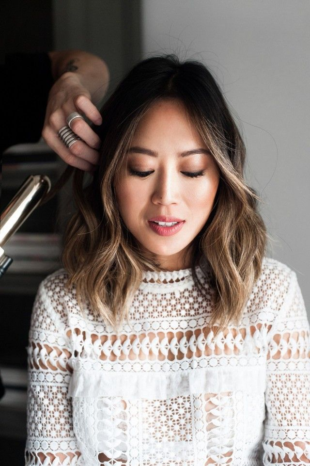 Song Of Style S Aimee Song Dishes On Her Favorite L A Spots Mydomaine Hair Color Asian Short Hair Balayage Asian Hair