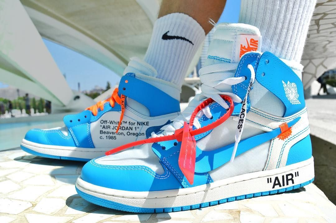 Unc Off White 1s A Apart Of Virgils Nike Off White Collection Sneaker Closet Aesthetic Shoes Sneakers