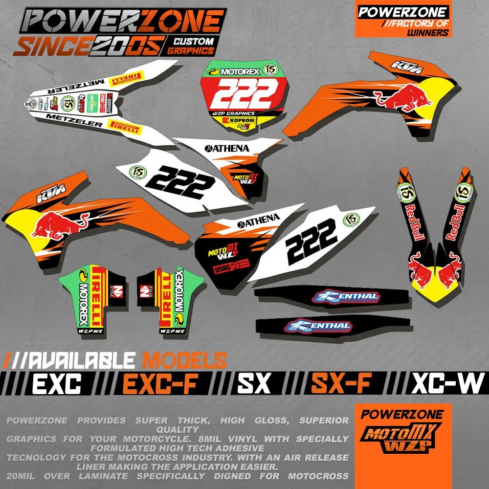 Custom Team Graphics Backgrounds Decals 3m Stickers Red B Kits For Ktm Sx Sxf Exc Exw 125 250 450 525 1998 2017 Free Shipping Ktm Graphic Custom