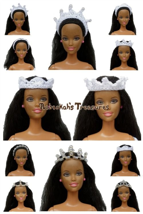 The Headpieces ~ Wedding Accessories for Fashion Dolls ~ Free ...