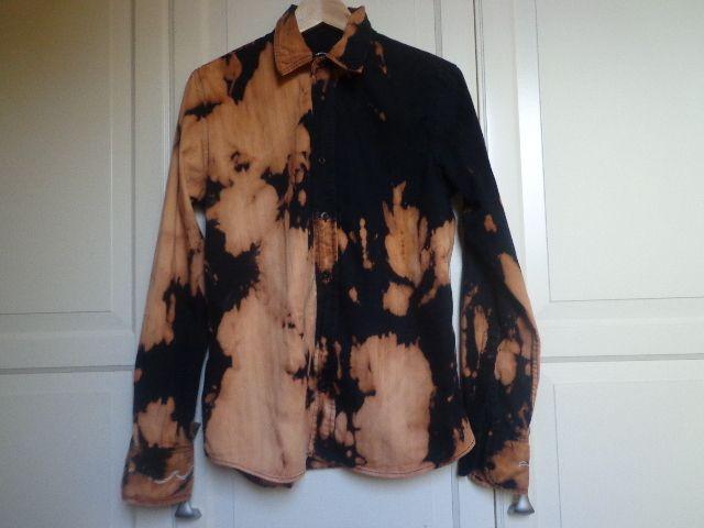 Hemd gebleicht, Upcycling von Tante Gutschi auf DaWanda.com