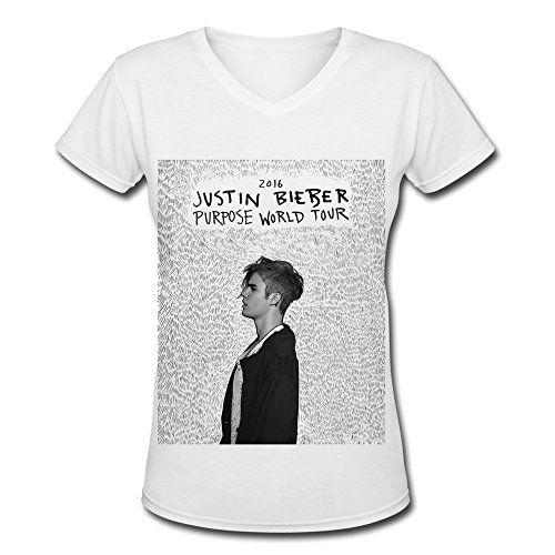 Justin Bieber Purpose World Tour 2016 V Neck T Shirt For Women White XL Generic http://www.amazon.ca/dp/B01B5UBWA0/ref=cm_sw_r_pi_dp_qETQwb0790W0X
