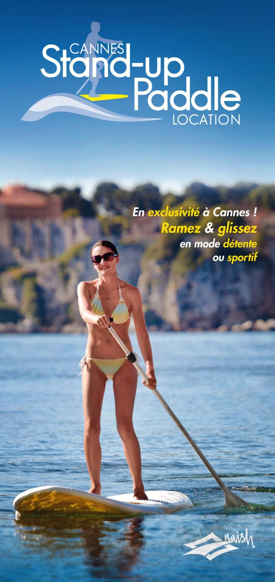 Cannes stand up paddle location