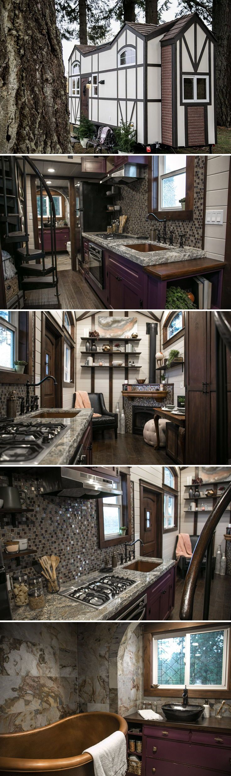 Tudor House By Tiny Heirloom Tiny House Living Tiny