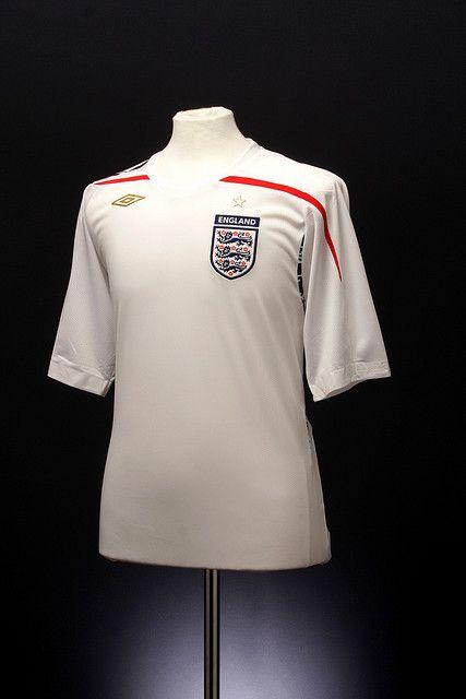 home 2009 Y England 2007 Uniformes Camisas Shirt Football n7YWWBwx4a