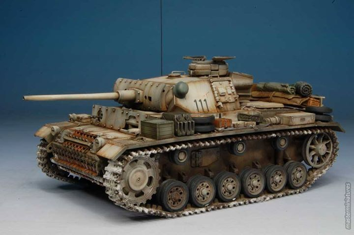 Panzer III Ausf. L Tamiya 1/35. Strictly winter setting. Made by Simone Cremaschi & Gian Luca Cocchi