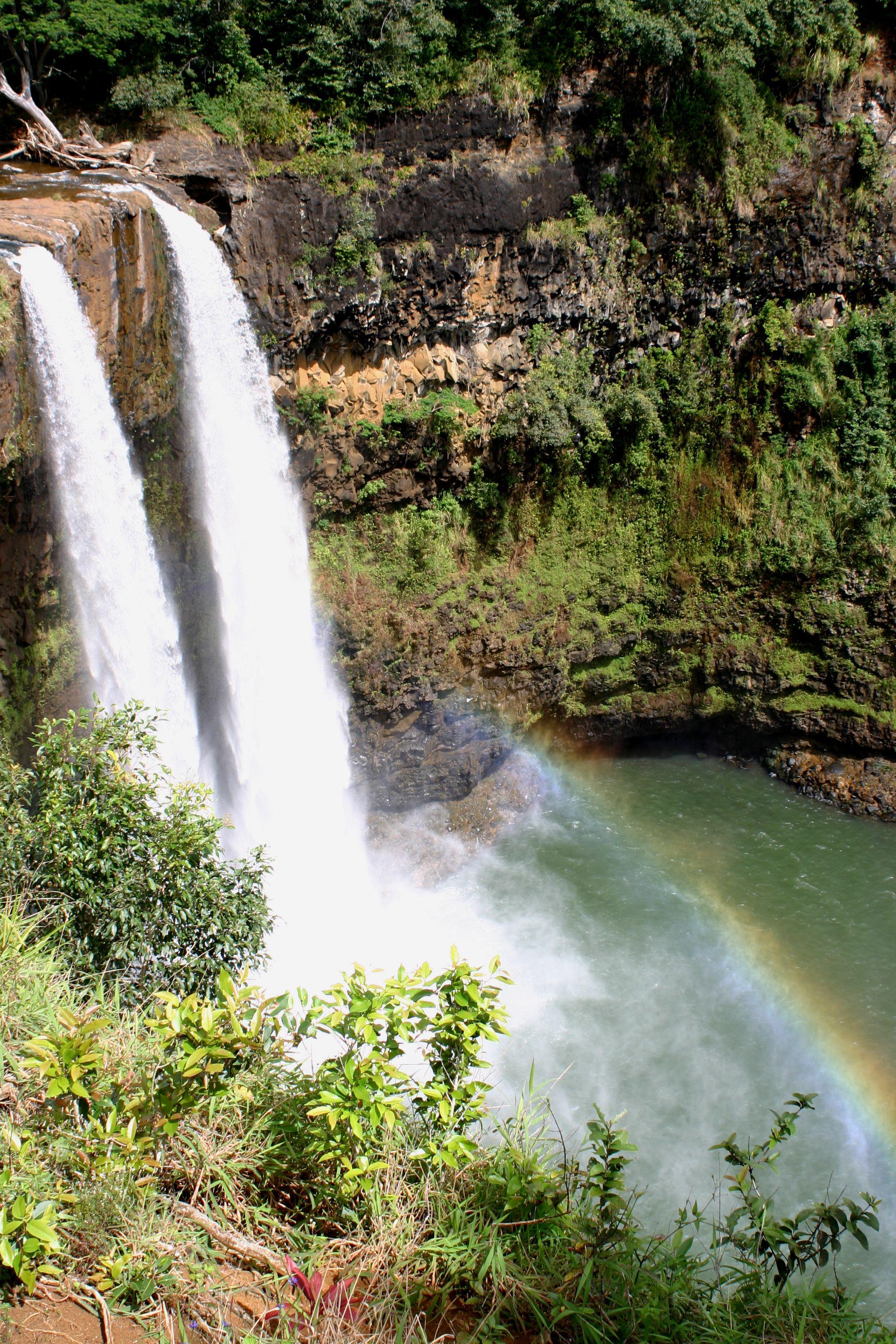 Wailua Falls, Kauai, HI Wailua, Kauai, Outdoor