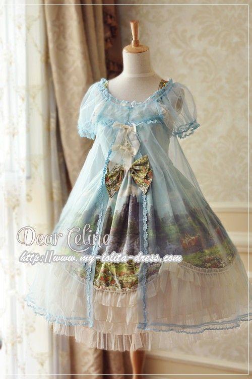 Dear Celine ***Midsummer Dream*** Lolita Surface Layer Dress/Peignoir