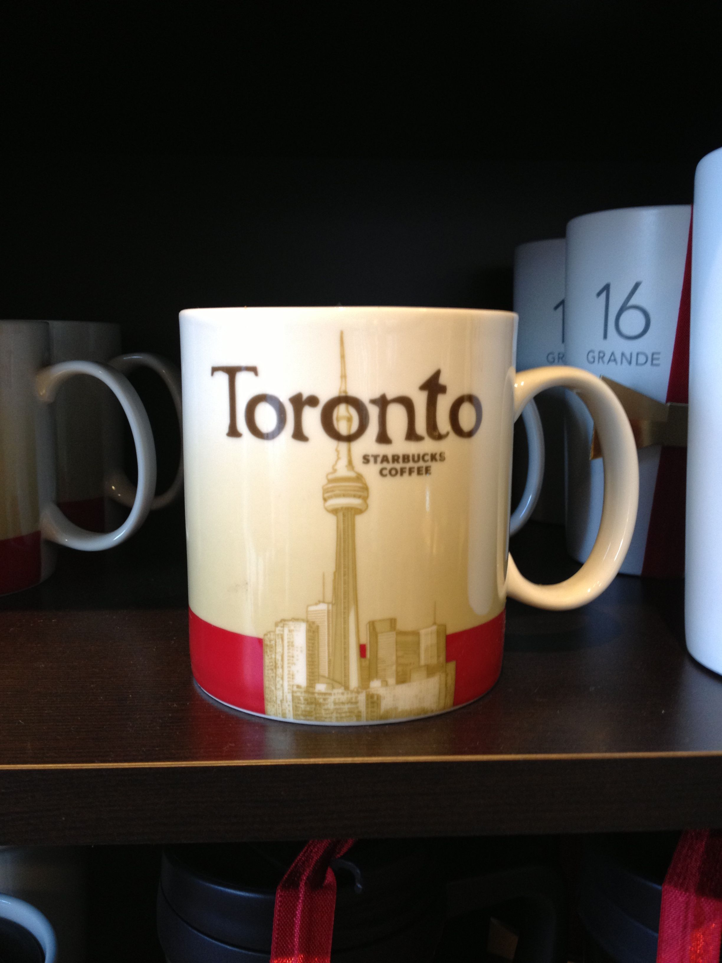 Toronto, Canada. Starbucks coffee, Starbucks, Tableware