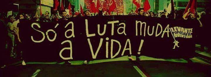 #luta #levantepopulardajuventude