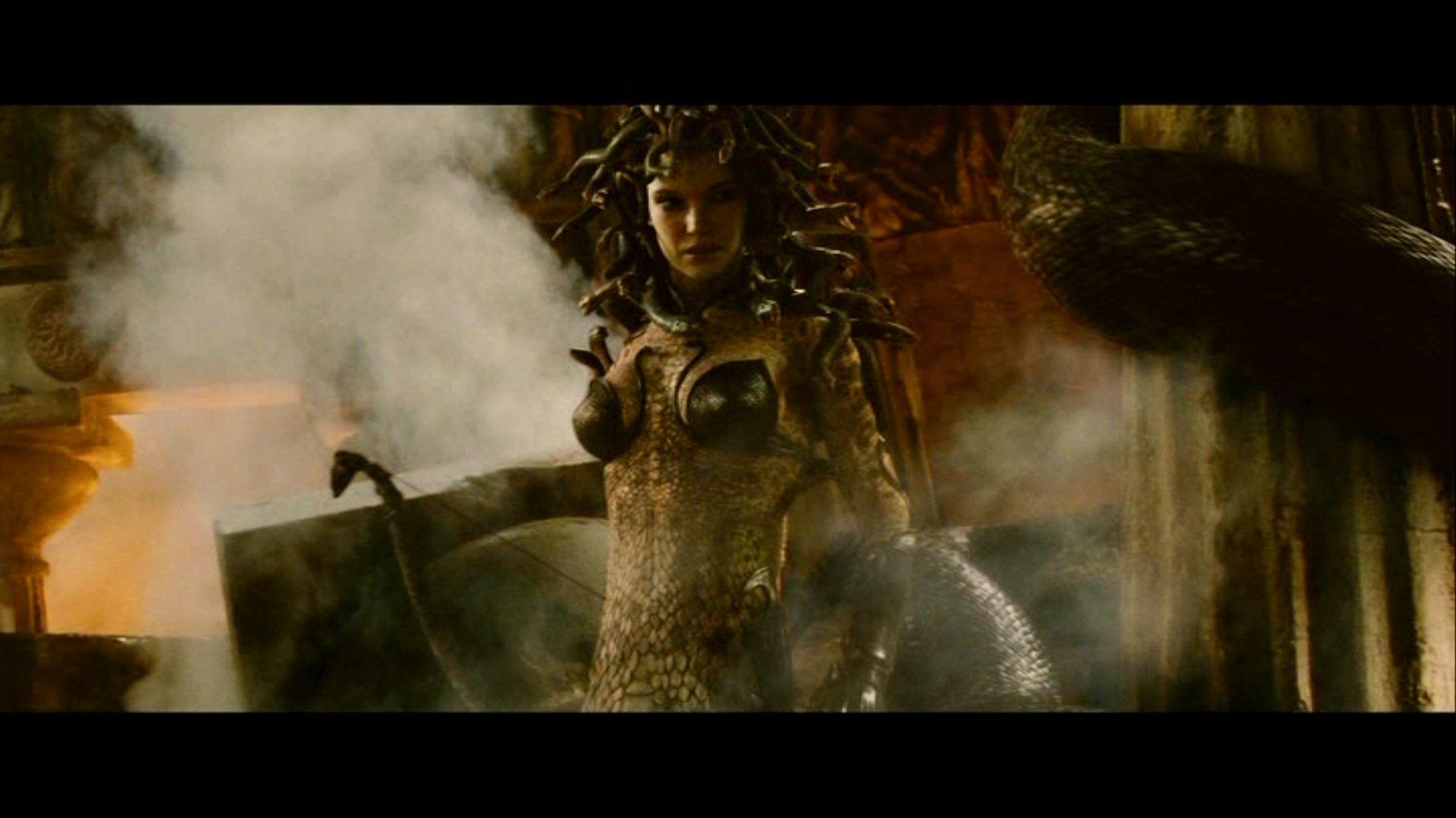 Clash Of The Titans Medusa Wallpaper Clash Of The Titans Movie