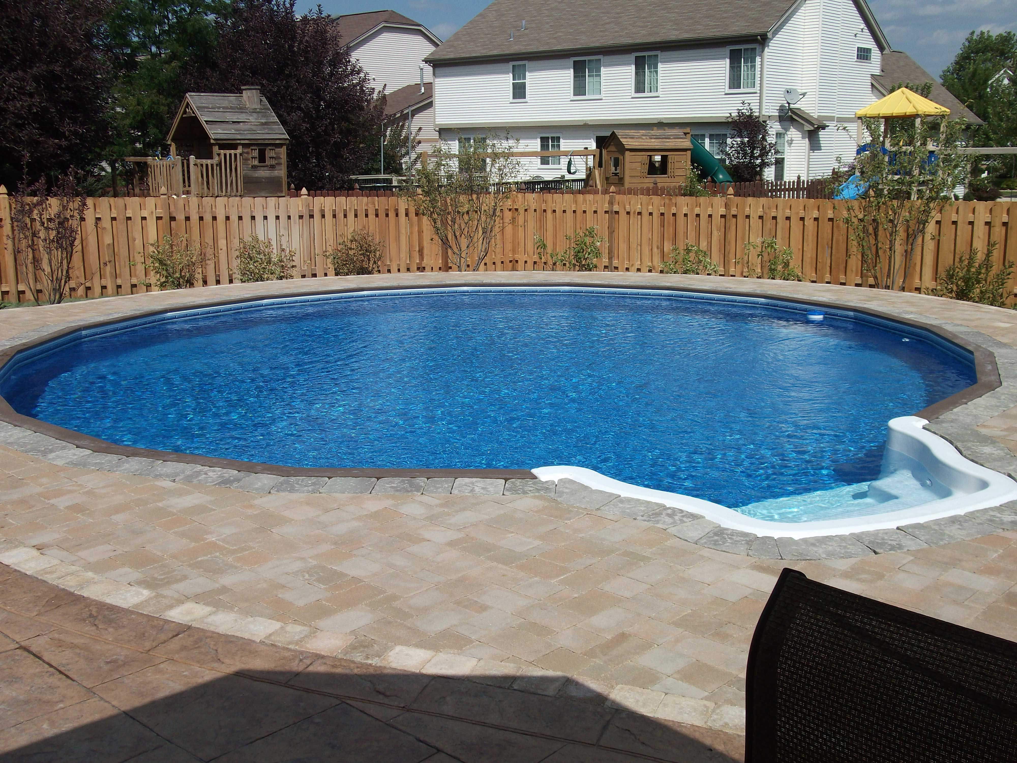 The Pool Place Chattanooga Pool And Outdoor Semi Inground Pools Round Pool In Ground Pools