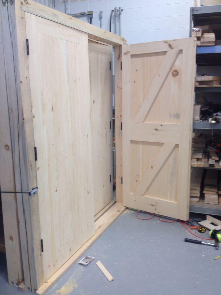 Framed, ledged, braced and battened double doors. | Door | Pinterest ...