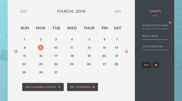 35 Best Free Calendar Templates Psd Ai Eps Design