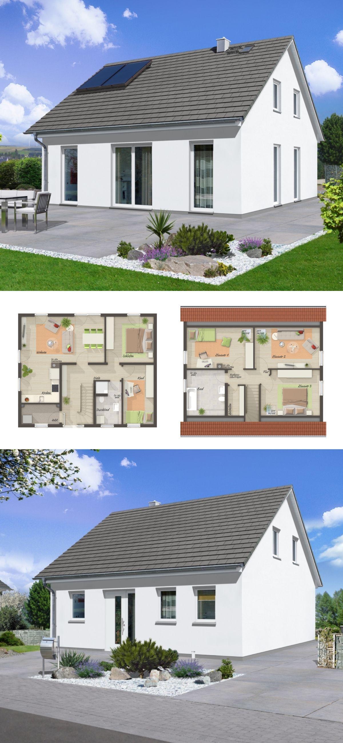 Modernes Ausbauhaus mit Satteldach Architektur