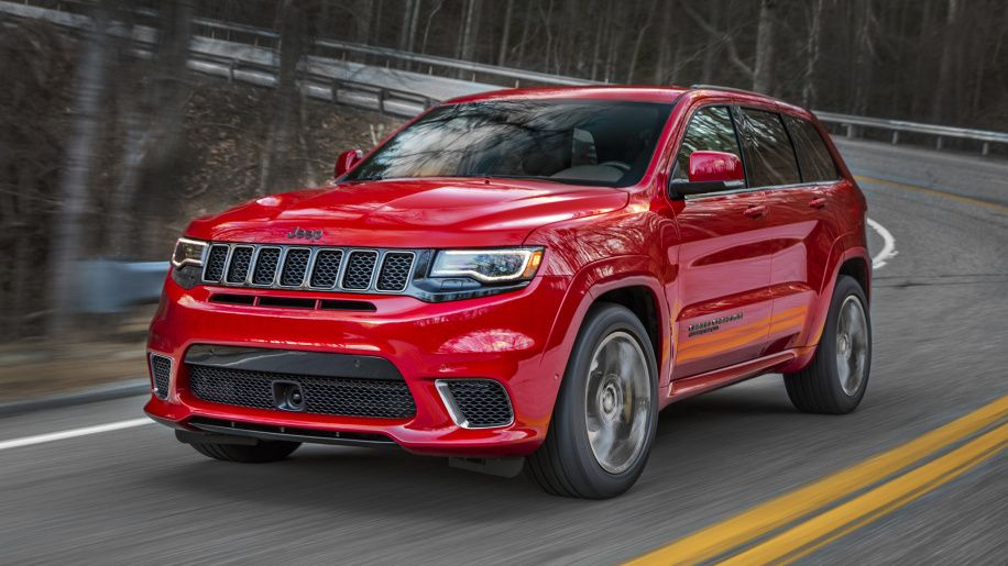 2018 Jeep Grand Cherokee Trackhawk Is More Expensive Than The