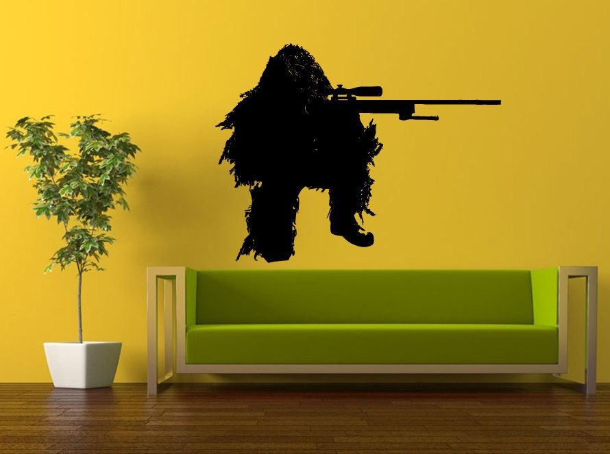 Wall Decal Vinyl Sticker Decals Peal And Stick Cheap Decor Art Army ...
