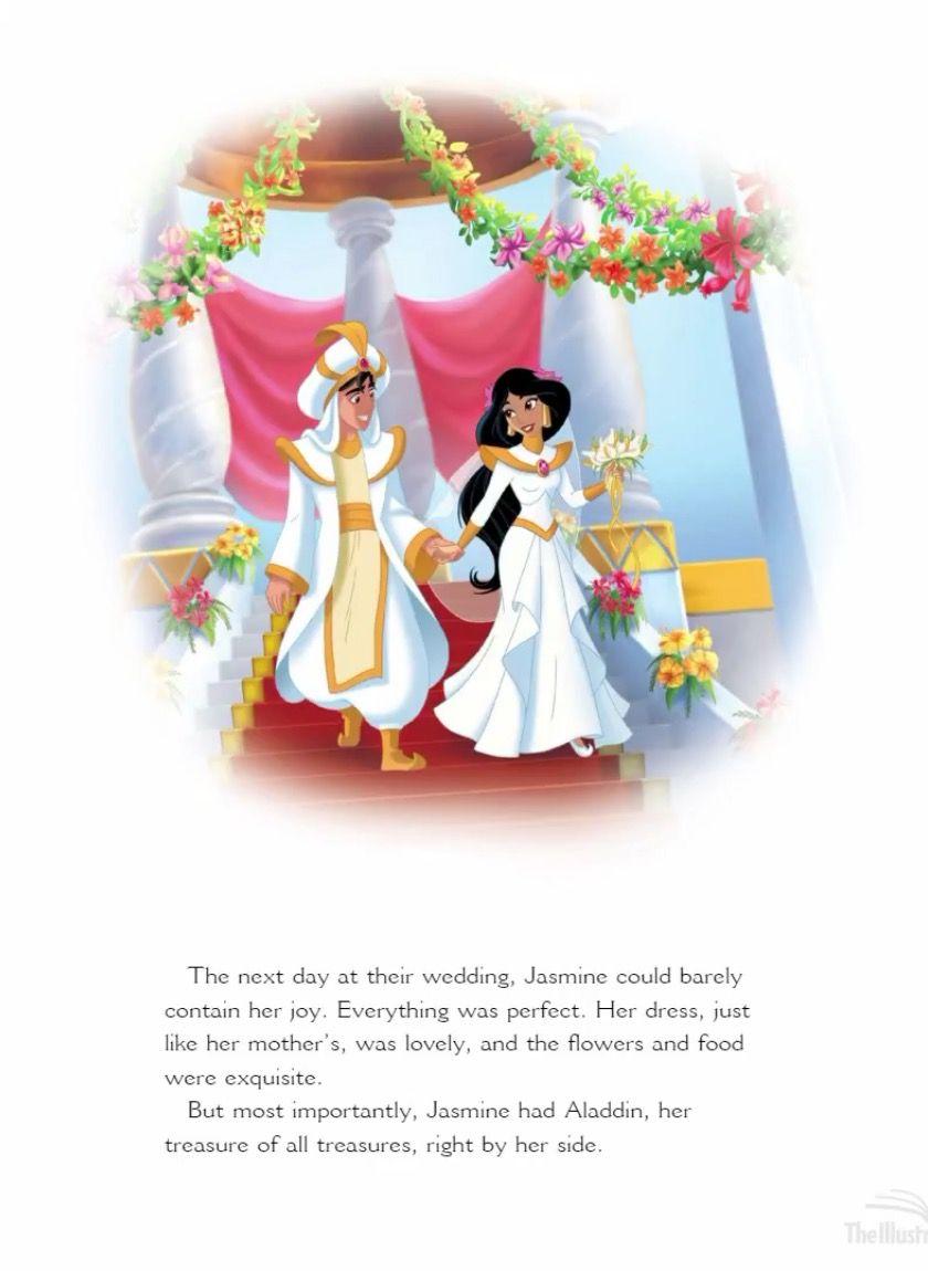 Princess Jasmine S Royal Wedding Part 12 Walt Disney Characters Disney Aladdin Cute Cartoon Images [ 1150 x 840 Pixel ]
