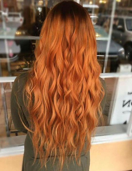 38 Orange Hair As Shining As Fire Hair Style Hair Color Hair Braid Cute Hair Color Orange Red Redhaircolo Hair Color Orange Hair Styles Burnt Orange Hair