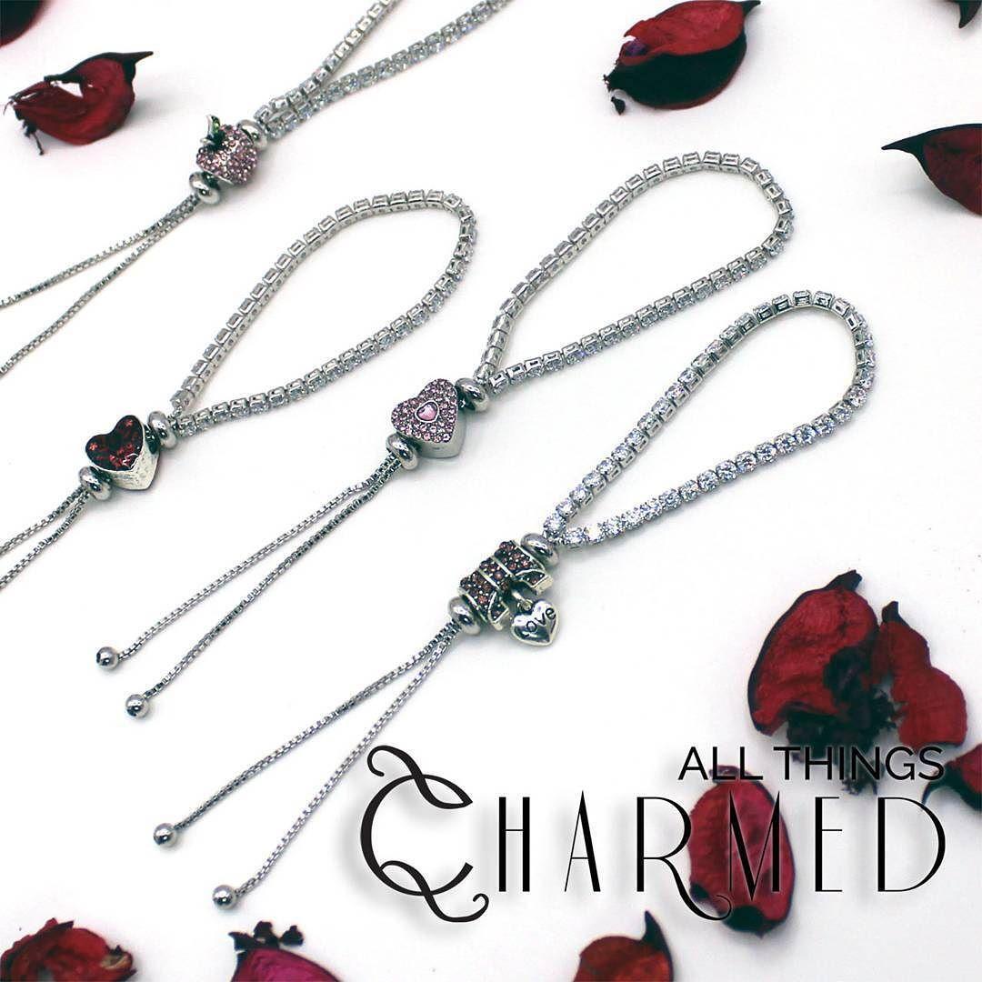 844f59c25fd61 Charm Sparkling Strand Bracelets . This bracelet features 40 matched ...