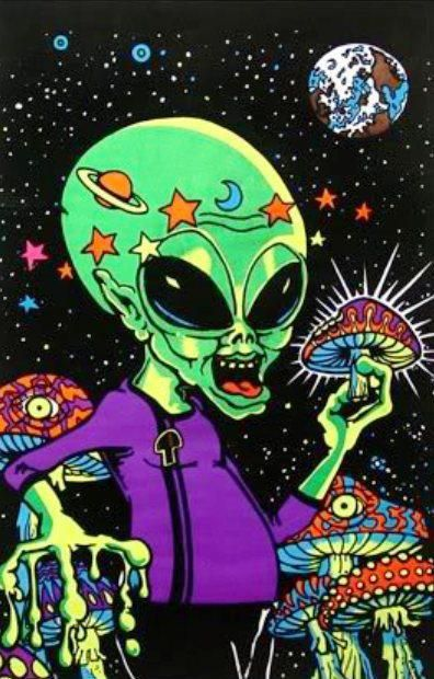 art aliens psychedelic - photo #31