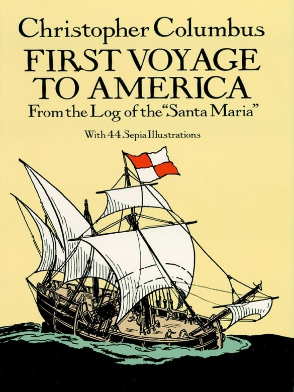 First Voyage To America Ebook