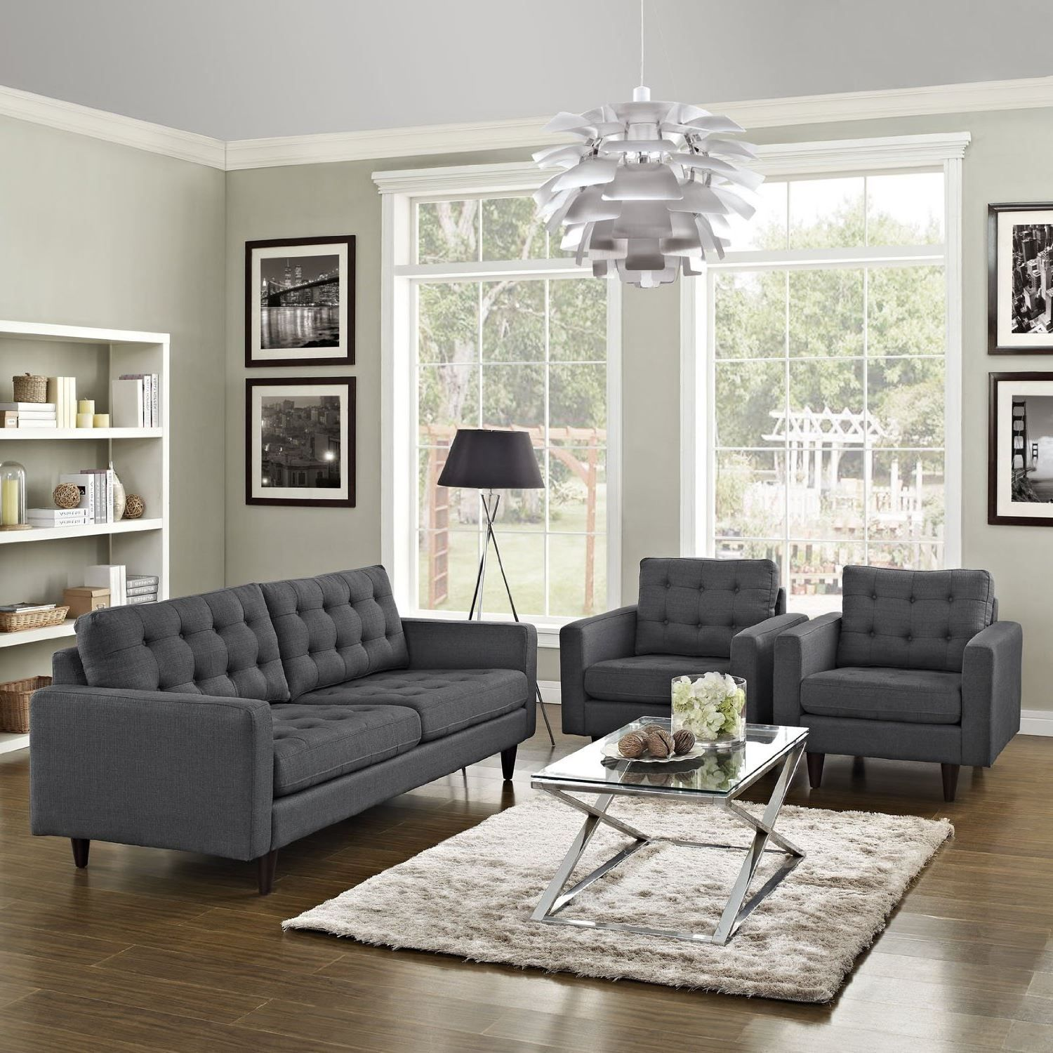 2018 Hottest And Trendiest Gray Leather Sofas For Fashionable