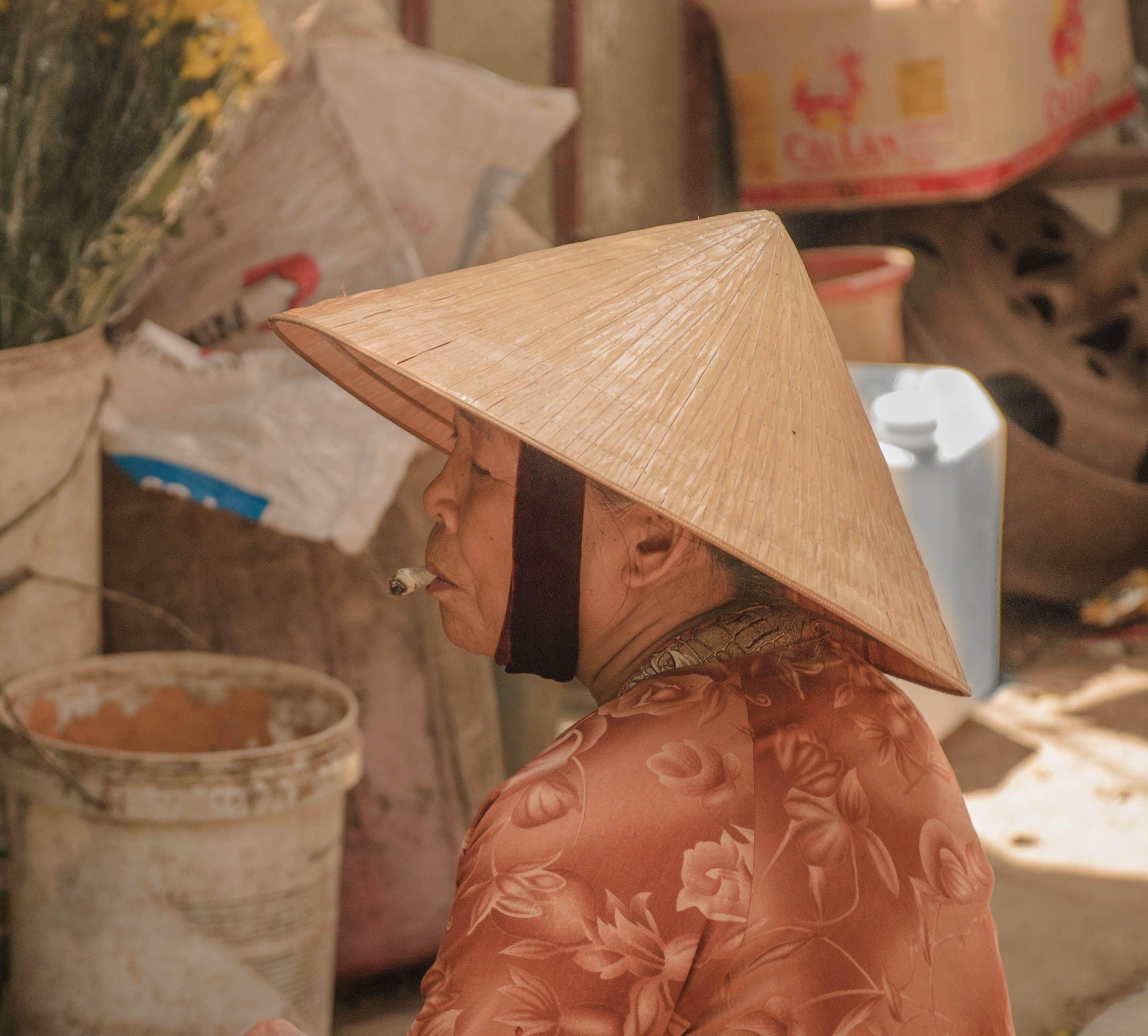 Market vendor Hoi An
