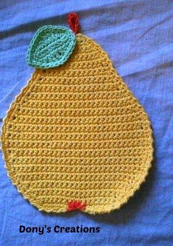 dony's creationsdonatella saralli : presina a forma di pera _