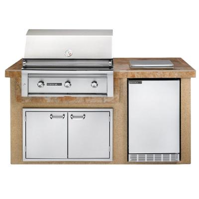 Now Available At Home Depot Sedona By Lynx 3 Burner Built In Stainless Steel Propane Gas Gri Outdoor Kitchen Outdoor Kitchen Island Outdoor Kitchen Appliances
