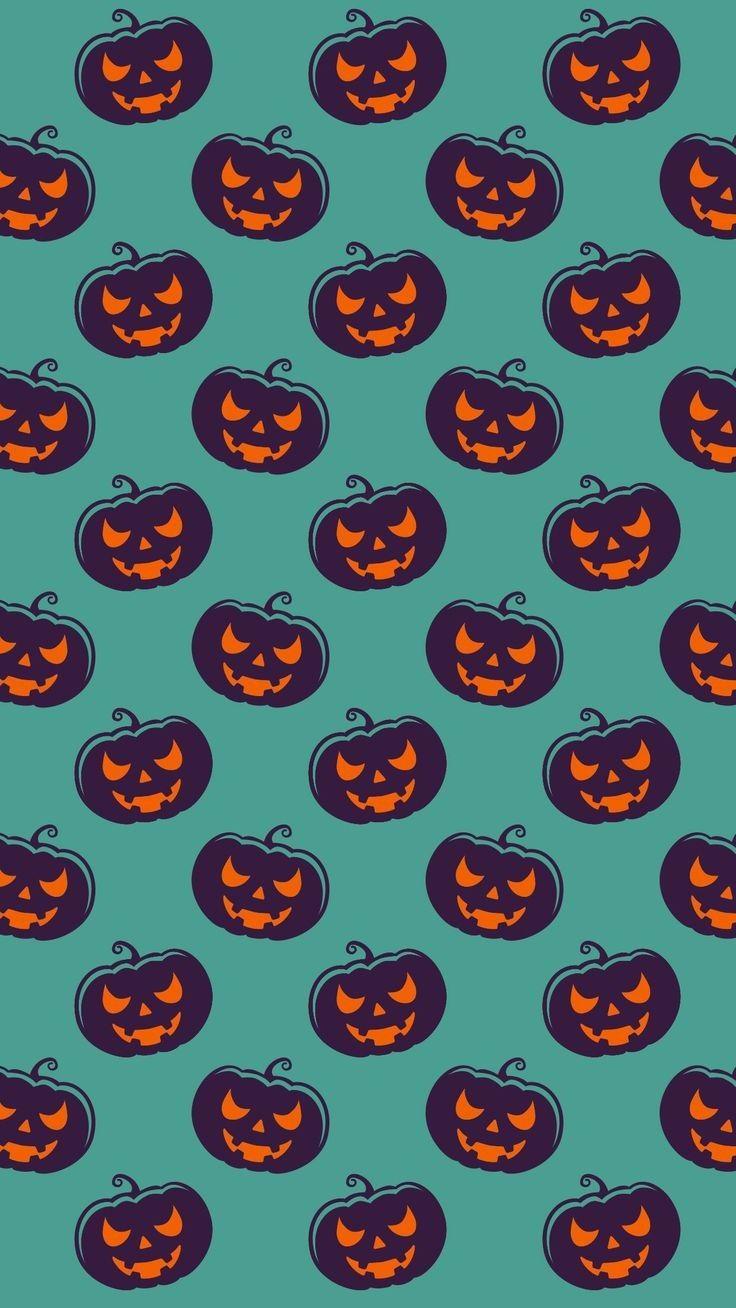 Pumpkin Halloween Themed Wallpaper Background Lock Screen For Android Cellphone Iphone Halloween Wallpaper Iphone Halloween Wallpaper Cute Fall Wallpaper