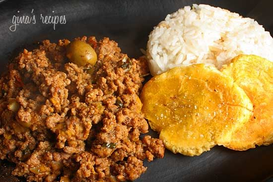 ... beef picadillo here it serves as the filling beef picadillo beef