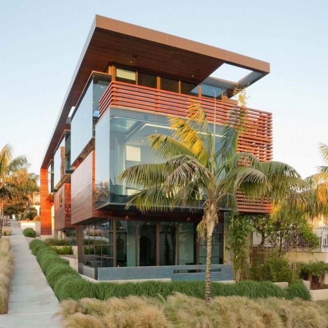 Ettley Residenz Kalifornien USA Moderne Architektur Holz