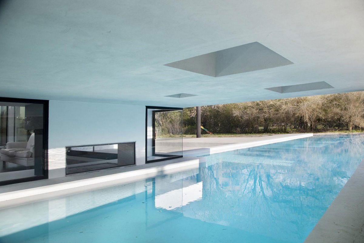 εσωτερική πισίνα στο υπνοδωμάτιο σχέδια αρχιτεκτονική