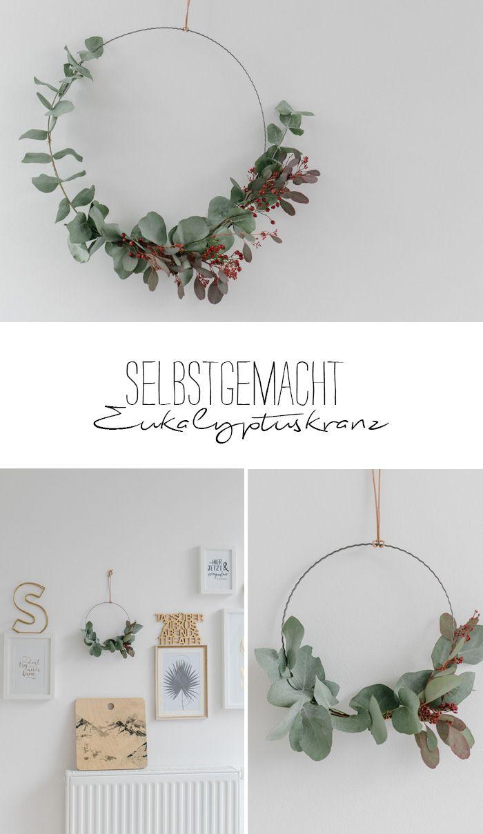 DIY - Eukalyptus an der Wand | joulu | Pinterest | Ladentheke ...