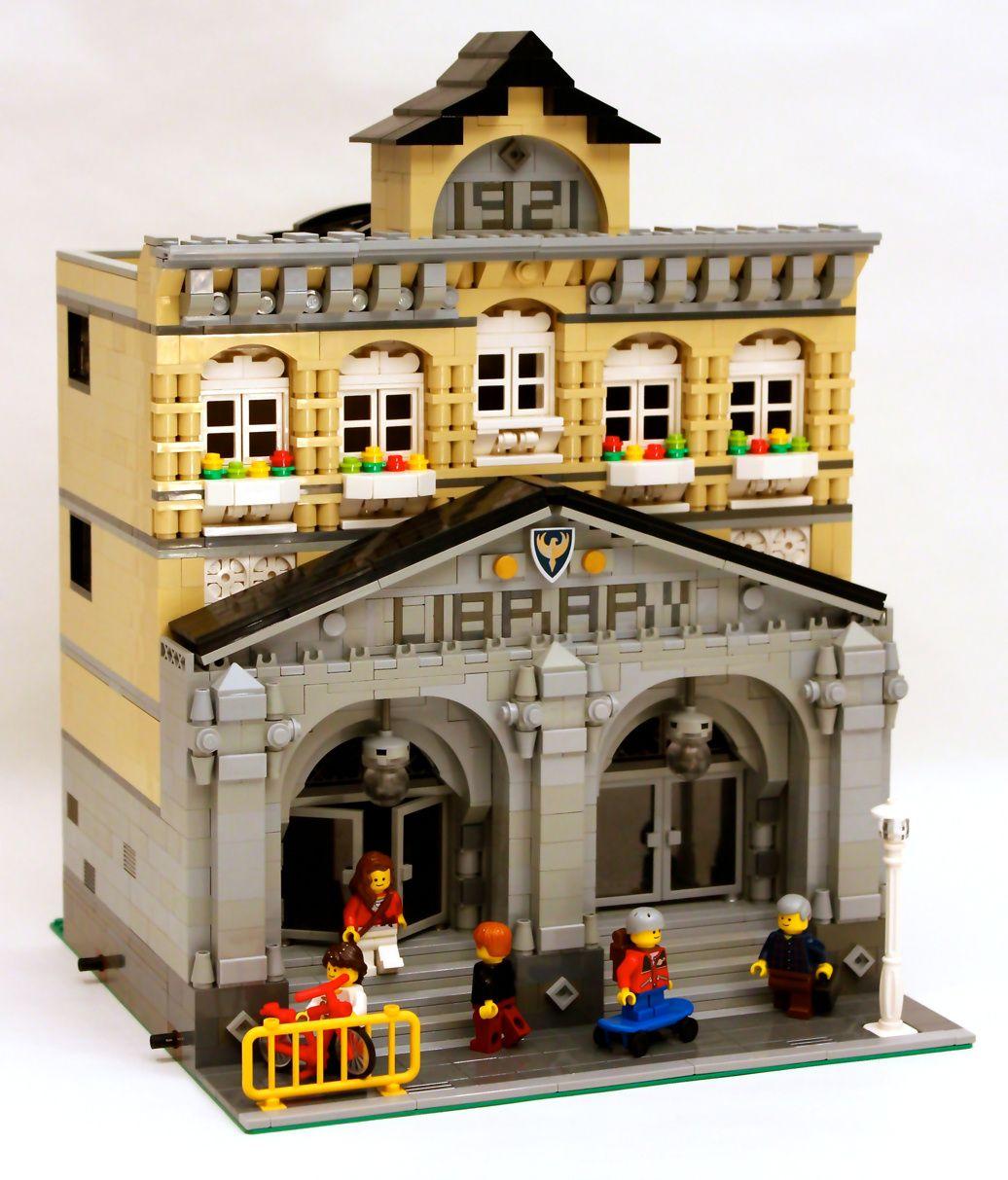 modular library lego lego modular lego lego building. Black Bedroom Furniture Sets. Home Design Ideas