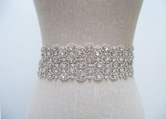 Julia Bridal Sash - SparkleSM Bridal Sashes