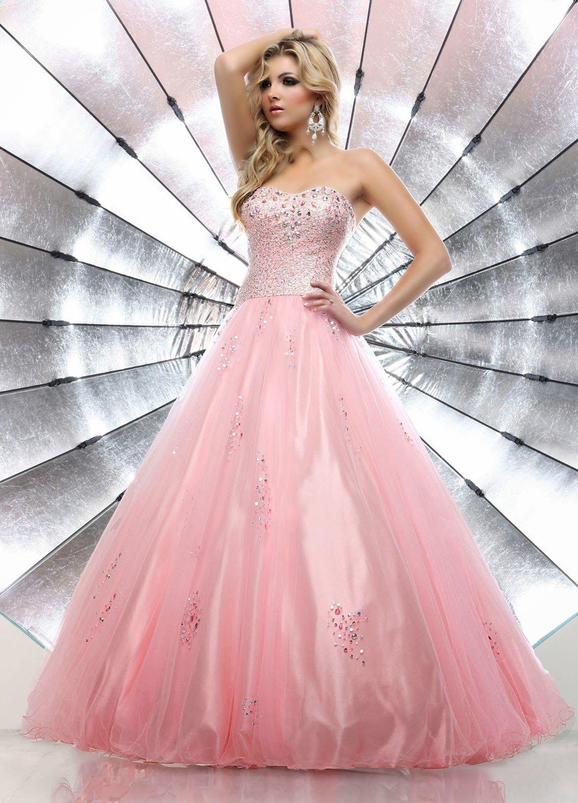 Excelentes vestidos de 15 años estilo princesa | Vestidos 15 ...