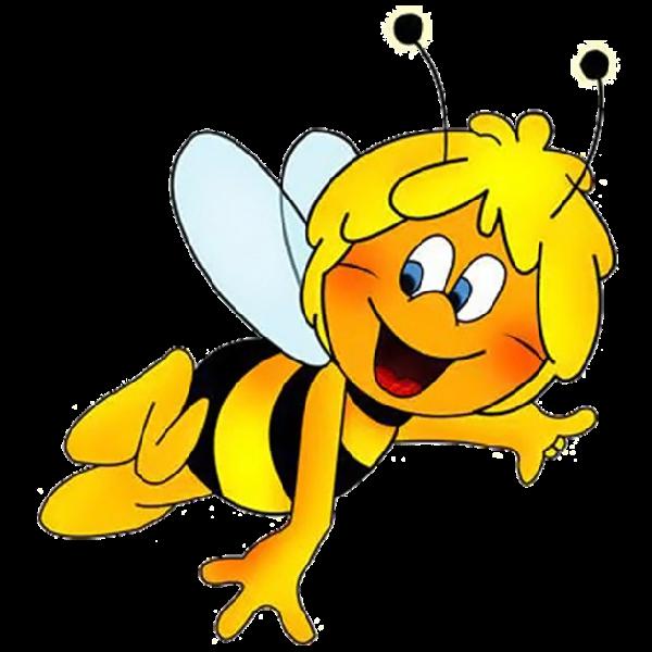 Maya The Bee Funny Honey Bee S Cartoon Clip Art Cartoon Bee Bee Art
