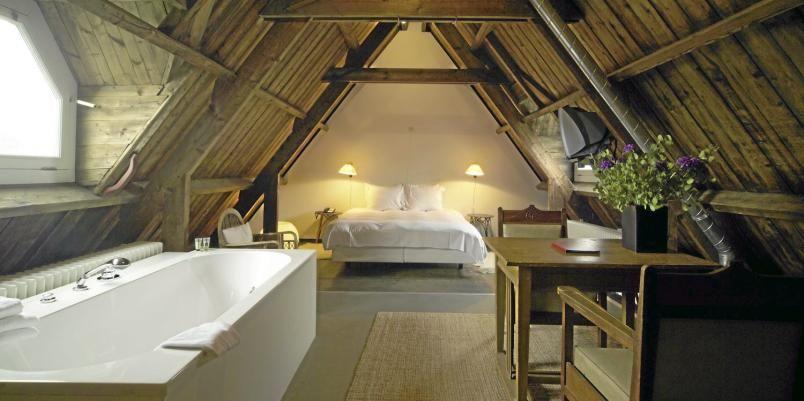 attic room via Bridgett Shank