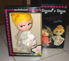 Bambola I Morbidissimi DIANA di Maria Perego 1985 NUOVO Italocremona Dioniso