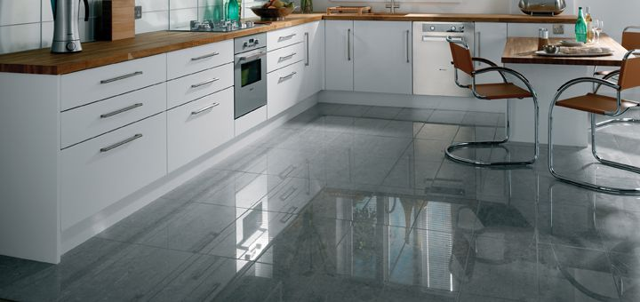Large Format Polished Porcelain Floor Tiles From The Eagle Range In Natural Patterns