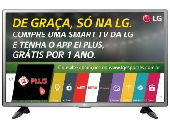 """Smart TV LED 32"""" LG 32LH570B - Conversor Integrado 2 HDMI 1 USB Wi-Fi em até 10x de R$ 139,90 sem juros no cartão de crédito  ou R$ 1.329,05 à vista"""