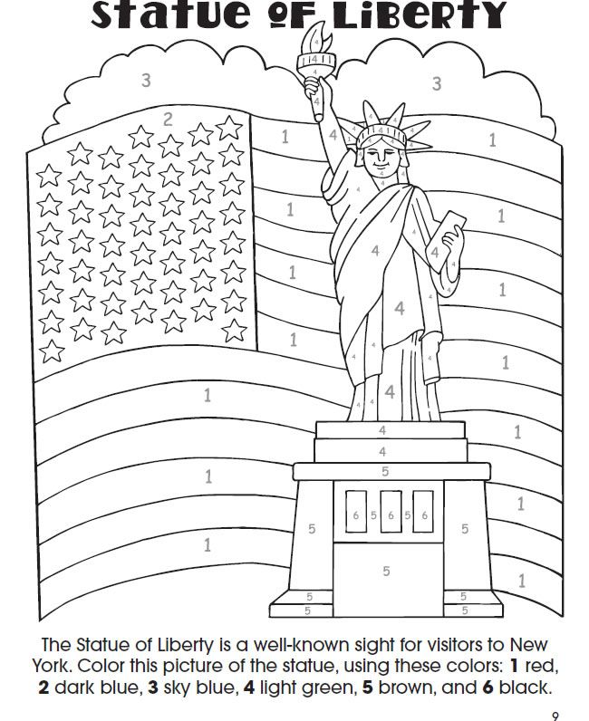 Welcome to Dover Publications My Vacation Activity Book The Statue ...