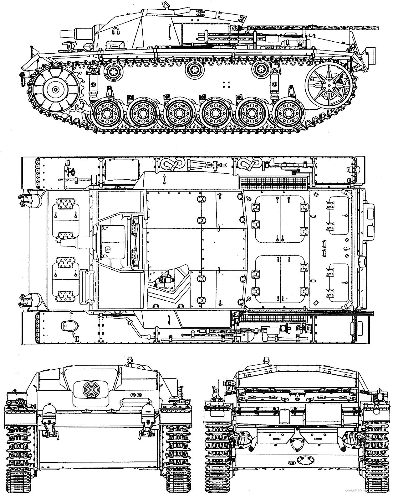 Blueprint Stug Iii Ausf C