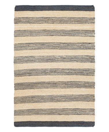 This Navy & Natural Portico Lexie Rug is perfect! #zulilyfinds