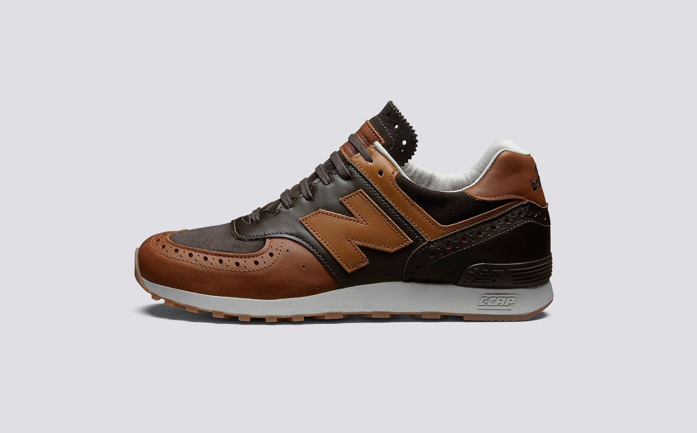 online retailer 1ce4d 7415e Grenson X New Balance M576 Men's The second version of the ...