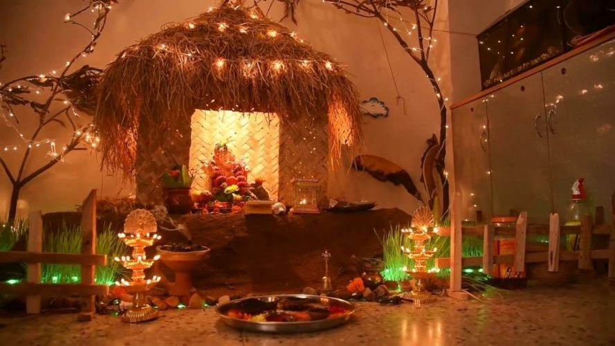 Top 81 Creative Ganpati Decoration Ideas For Home That You Should Try Decoration For Ganpati Diwali Decorations At Home Decor