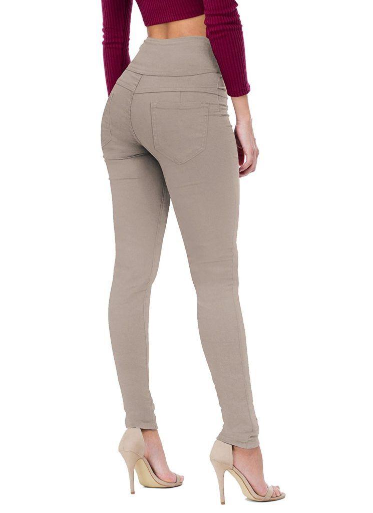 a1ac0b12ef3b HyBrid   Company Women Butt Lift 3 Button High Waist Stretch Denim Skinny  Jeans - Now Fashion Shop