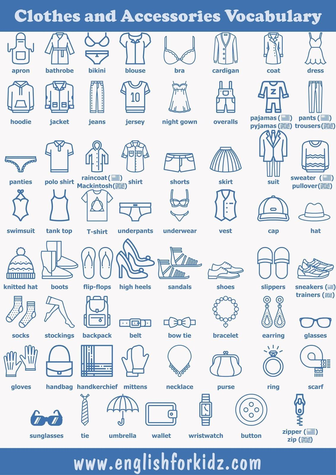 Notitle Clothes Worksheet In